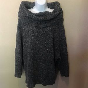 Joie wool blend off shoulder oversized sweater